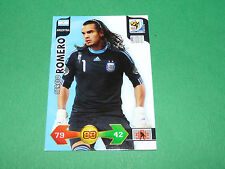 SERGIO ROMERO ARGENTINA PANINI FOOTBALL FIFA WORLD CUP 2010 CARD ADRENALYN XL