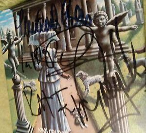 King Crimson 1969 SIGNED Box GREG LAKE ROBERT FRIPP GILES+ Autographed 4CD LIVE