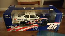 Kyle Petty #45 Marathon American Spirit 1:24 Stock Car Model Sign  Richard Petty