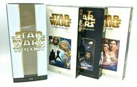 2000 Star Wars Trilogy Digitally Mastered VHS Box Set - 3 Tape PACK Collectable