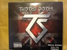 TWISTED. SISTER.     LIVE. AT. THE. ASTORIA.       SPECIAL. EDITION.  CD. /DVD.