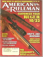 American Rifleman Magazine July 1996 Customize Your Ruger 10/22 and More!
