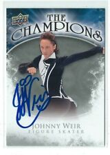 Johnny Weir Signed 2009/10 Upper Deck The Champions Card #CH-WE Figure Skating