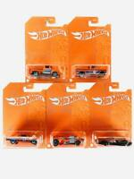 Hot Wheels 53rd Anniversary Orange and Blue Series Set of 5 Cars 2021