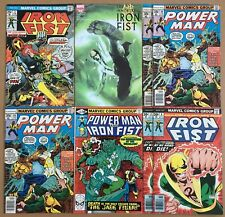 Immortal Iron Fist #1 2nd Print Variant #3 8 2X Power Man 49 3X 66 Luke Cage Lot