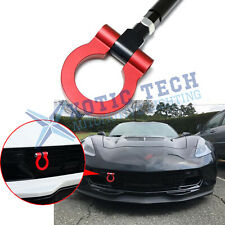 For Chevy Corvette Z06 ZR1 Z51 2014-2019 Track Racing CNC Aluminum Tow Hook Red