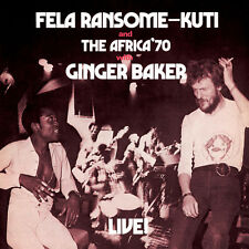 Fela Kuti - Fela Live with Ginger Baker [New Vinyl] Digital Download