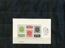 ANGOLA Sc 330a(SG MS 454a)**VF NH 1950 EXPO SOUVENIR SHEET, USUAL  GUM BENDS$110