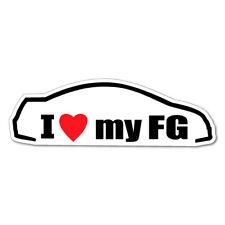 I LOVE MY FG JDM Car Sticker Decal Car Drift Turbo Euro Fast Vinyl #0650