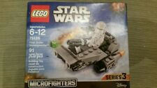 STAR WARS LEGO ultimate collector series 3 #75126 microfighters