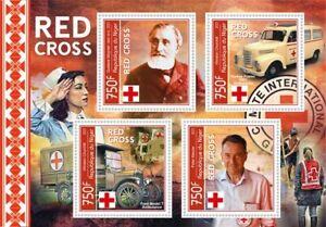 Stamps Medicine Red Cross Henry Dunant,Maurer,Moynier,Dufour