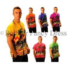 Camicie casual e maglie da uomo a manica corta floreale