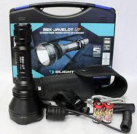 Olight M2X-UT Javelot 1020Lm LED Flashlight  Weapon Kit w/ Mount Pressure Switch