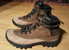TIMBERLAND 84141 CANARD LEATHER OUTDOOR DUCK ANKLE BOOTS SHOES MENS US SIZE 9M