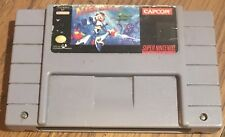 Mega Man X (Super Nintendo Entertainment System, 1993) Tested And Working!
