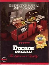 B001K2J6AW Ducane Gas Grills: Instruction Manual and Cookbook