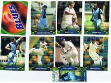 9X 2002 TOPPS ACB GOLD CRICKET CARDS: NSW BLUES