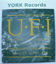 "UFI (UNIVERSAL FUNK INDUSTRY) - Understand This Groove - Ex Con 7"" Single Virgin"