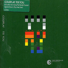 FREE US SH (int'l sh=$0-$3) NEW CD Coldplay: Fix You Single, Enhanced, Import