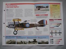 Aircraft of the World Card 42 , Group 14 - Bristol F.2B Fighter
