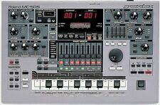 ROLAND MC-505 GROOVEBOX SYNTHESIZER DRUM MACHINE & POWER SUPPLY 303 307 808 909
