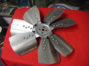 1971 1972 FORD MUSTANG TORINO 7 BLADE FAN D2VE-8600-AC  17 3/8 INCH  351 CLEVLAN