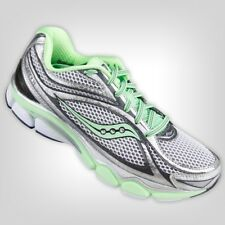 New! Saucony Men's ProGrid Omni 11 Running Shoe in Gray/Green Size: 9 in box