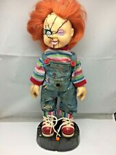 Mini Chucky Good Guys Doll Animated Figurine Bride Of Chucky Gemmy 2007