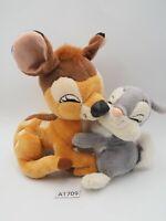 "Bambi Thumper Disney A1709 Heartland Hugging Plush 6"" Stuffed Toy Doll Japan"