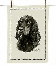 H Robinson Irish Red Setter Dog Breed 100/% Coton Naturel Thé Serviette 67cmx47cm