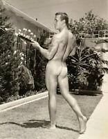 "Bruce of LA Vintage Nude Phil Knight Butt Gay Interest -17"" x 22"" Fine Art Print"