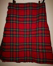 environ 7.32 m Traditionnel Écossais Kilt 3 Boucle//sangles MacDonald Tartan Men/'s 8 Yd