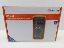 Mercury 600.100un Mtm01 Professional Digital Multitester Meter Volt Amp