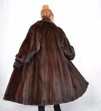 US908 Saga Mink Fur Coat Jacket шуба Mex норка Nerzmantel Nerz Pelzmantel ca. XL