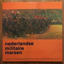 NEDERLANDSE MILITAIRE MARSEN - MAJOOR J.P. LARO - 2 LP