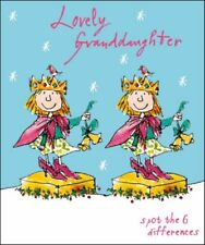 Lovely Granddaughter Quentin Blake Christmas Greeting Card Popular Xmas Cards
