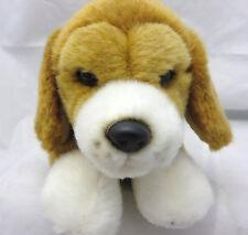 GANZ WEBKINZ SIGNATURE LYING BEAGLE PUPPY DOG GOLD STUFFED ANIMAL PLUSH TOY 11in