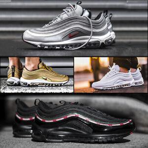 SCARPE UOMO Nike AIR MAX 97 silver nere bianche DONNA CON SCATOLO 720 90 270