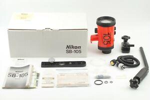 【N Mint in Box】Nikon Speedlight SB-105 Underwater Flash for Nikonos FedEx✈ JAPAN