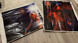 Vintage Bally/Midway Mortal Kombat 3 Arcade Cabinet Side Panel Artwork 1995 READ