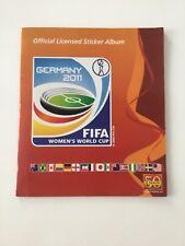 Panini Album Frauen WM 2011 WC mit Fehldruck Sticker 214 fast komplett!!!