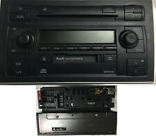 CD Wechsler Autoradio Kassette Tuner SYMPHONY II AUDI A6 S6 4B0035195J mit Code