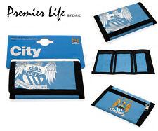 Manchester City F.C. Wallet-Più recente Foil Print Design