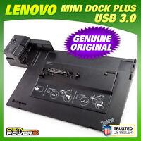 Lenovo Thinkpad Mini Dock Plus 433835u Docking Station w/ USB 3.0 W510 W520 W530
