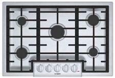 "Bosch 800 Series 30"" 5 Burner Gas Cooktop NGM8055UC Stainless Steel MSRP $999"