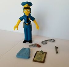 Playmates The Simpsons OFFICER MARGE SIMPSON loose complete World of Springfield