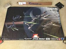 Star Wars Fathead Space Battle X-Wing TIE Fighter Death Star Mural Graphic Wall