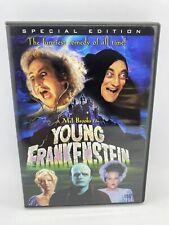Young Frankenstein DVD Special Edition Gene Wilder + Robin Hood Men in Tights