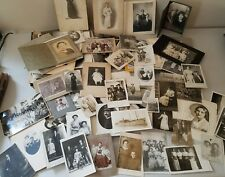 Lot Antique Family Photographs over 500 photos