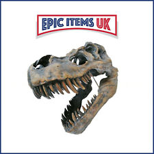 More details for large 51cm tyrannosaurus rex dinosaur skull wall mountable ornament (t-rex)